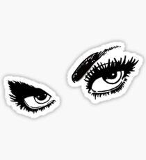 audrey hepburn eyes 2 Sticker