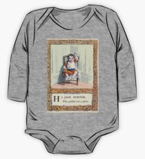 A Treasury of pleasure books for young people 1856 010 Alphabet One Piece - Long Sleeve