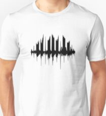 Piano Waveform  T-Shirt