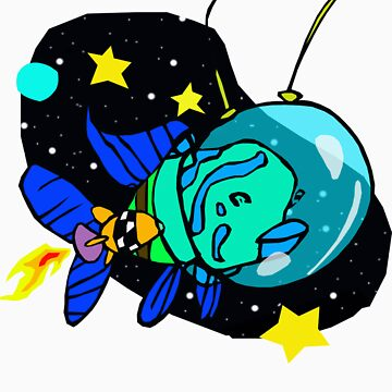 A Fish from Space by moonbug