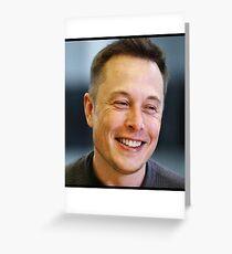 Elon Musk  Greeting Card