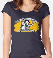 Rin Tin Tin Women's Fitted Scoop T-Shirt