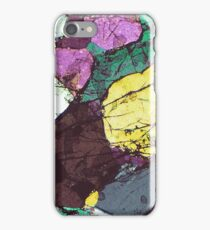 Spot marble texture  iPhone Case/Skin