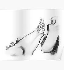 Tongue & Toes Poster