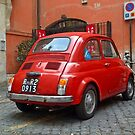 Fiat Parking Only by Clayton  Turner