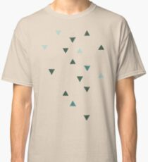 DOWN UP / olive green / seaweed / turquoise / aqua mint Classic T-Shirt
