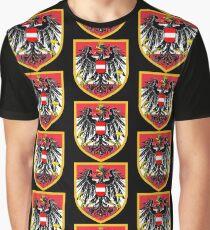 Austria Flag Graphic T-Shirt