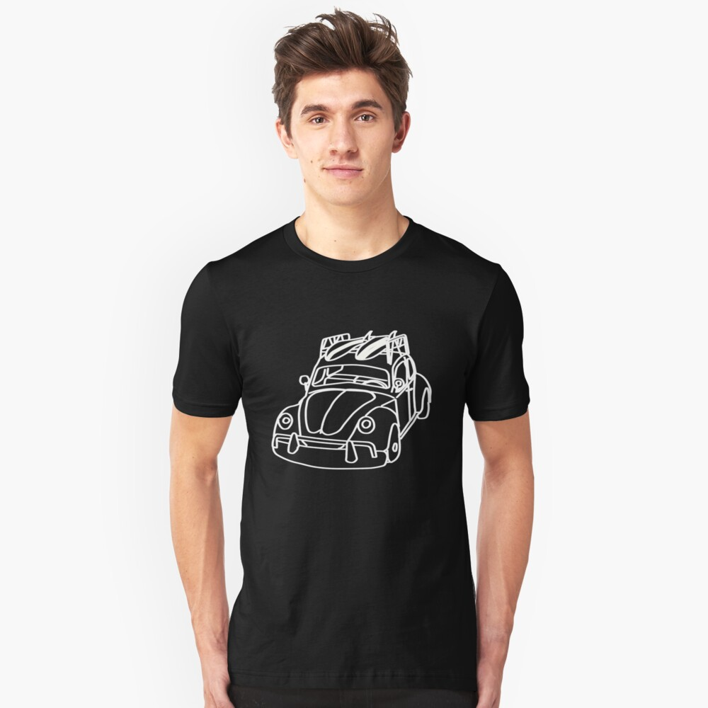 the love bug Unisex T-Shirt Front