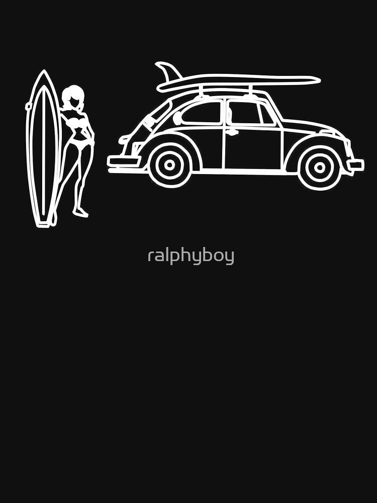 SURFER GIRL by ralphyboy