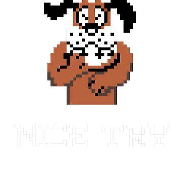 Nice Try Duck Hunt Dog by Giygas666