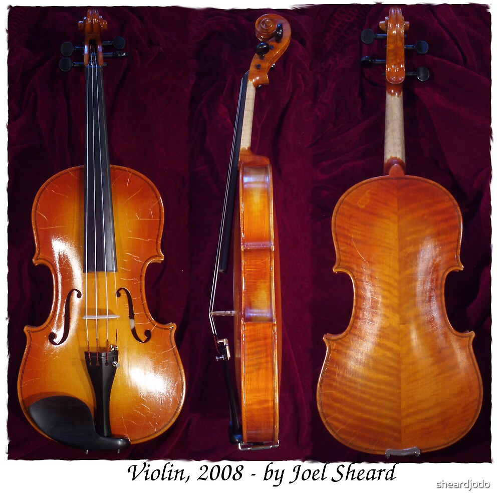 Violin, 2008 - by Joel Sheard by sheardjodo