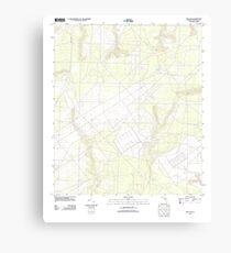 USGS TOPO Map Florida FL Holt SW 20120629 TM Canvas Print