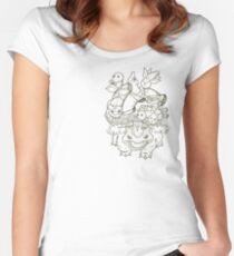 The Grass Heart Women's Fitted Scoop T-Shirt