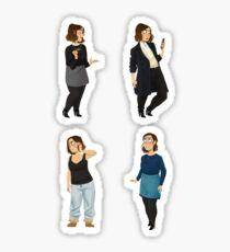 Every Clara Outfit Ever #11 Sticker
