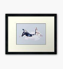 Whale Color Dreams Framed Print