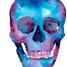 Galaxy Skull by Mariewsart