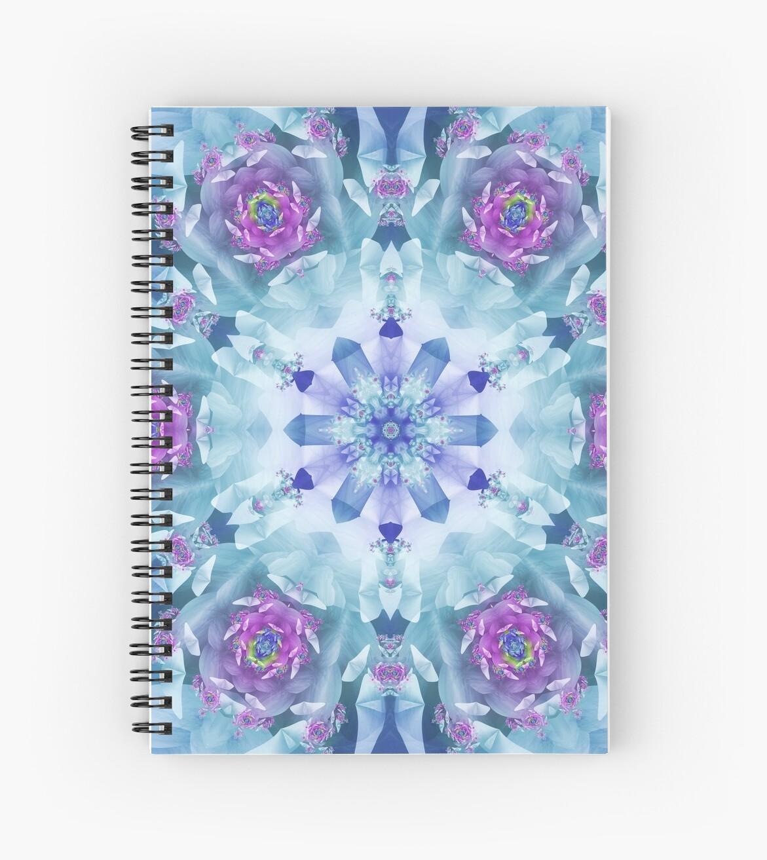 Royal Blue and Purple Mandala by Kelly Dietrich