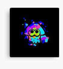 Splatoon Squid Canvas Print