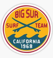 Big Sur Surf Team Sticker