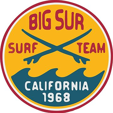 Big Sur Surf Team by PinnaArdens