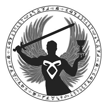 Raziel & The Mortal Instruments (The Shadowhunter's Seal) | Dark by riotinlights