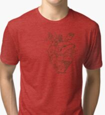 The Poison Heart Tri-blend T-Shirt