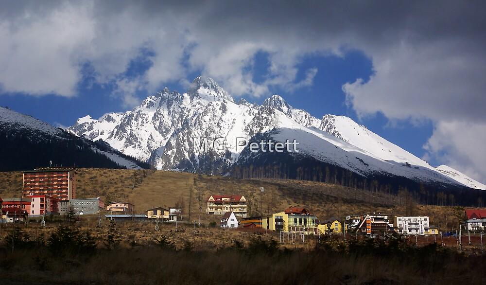 Tatra Mountains by M G  Pettett