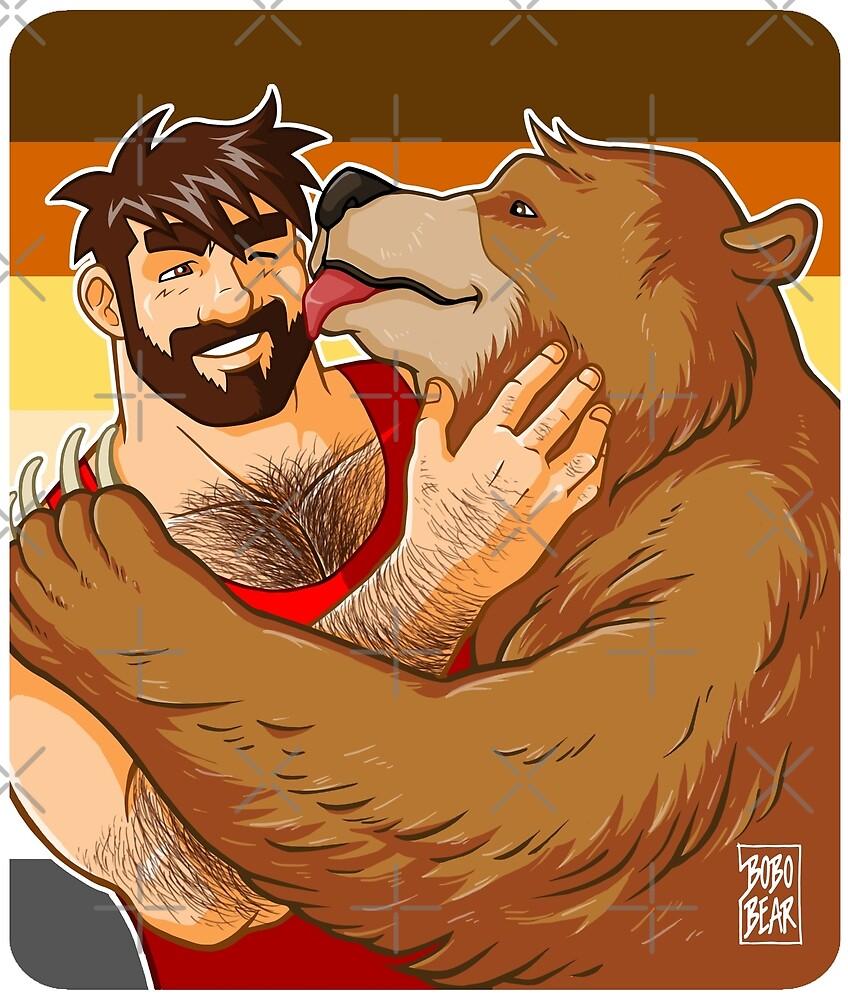 BEAR KISS - BEAR PRIDE by bobobear