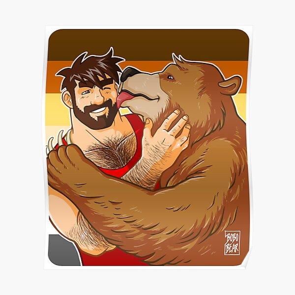 BEAR KISS - BEAR PRIDE Poster