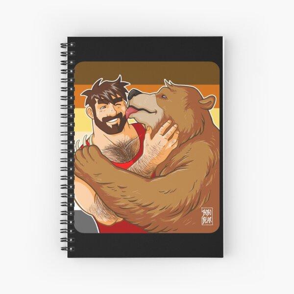 BEAR KISS - BEAR PRIDE Spiral Notebook