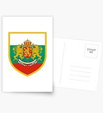 Bulgaria Flag Postcards