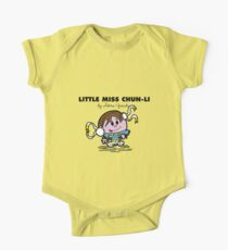 Little Miss Chun-Li One Piece - Short Sleeve