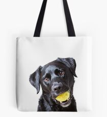 Baxter with ball Tote Bag