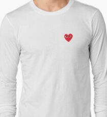 Commes Des Garcons - PLAY Long Sleeve T-Shirt