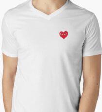 Commes Des Garcons - PLAY Men's V-Neck T-Shirt