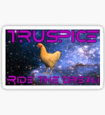 Each day we season our own, personal, spice chicken. Sticker