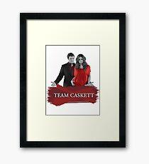 Team Caskett Framed Print