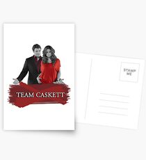 Team Caskett Postcards