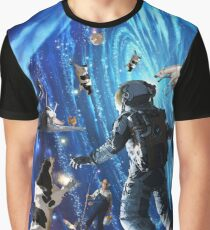 UP IN SPACE  Graphic T-Shirt