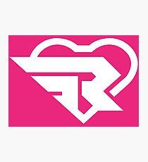 Ribbon Girl logo Photographic Print