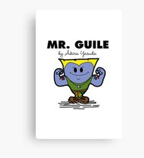 Mr Guile Canvas Print