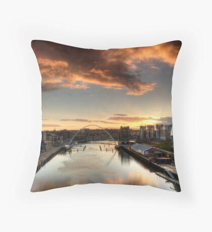 The Tyne Throw Pillow