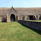 Middle Littleton Tithe Barn by John Dalkin