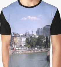 Donaukanal, Vienna Austria Graphic T-Shirt