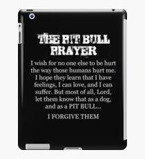THE PIT BULL PRAYER iPad Case/Skin