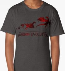 Game of Thrones Drogon Evolution Long T-Shirt