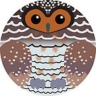 Spotted Wood Owl by FurvaNoctua
