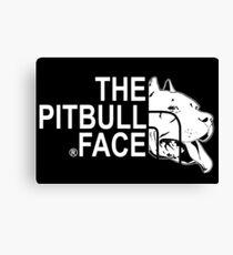 THE PITBULL FACE Canvas Print
