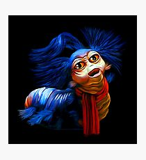 Ello Worm Painting - Labyrinth Movie  Photographic Print