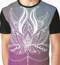 MANDALA LOTUS Graphic T-Shirt